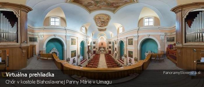 Chór v kostole Blahoslavenej Panny Márie v Umagu