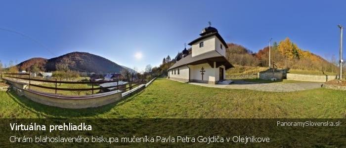Chrám blahoslaveného biskupa mučeníka Pavla Petra Gojdiča v Olejnikove