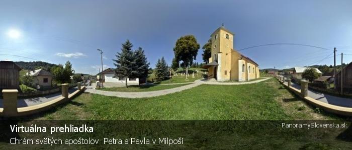 Chrám svätých apoštolov  Petra a Pavla v Milpoši