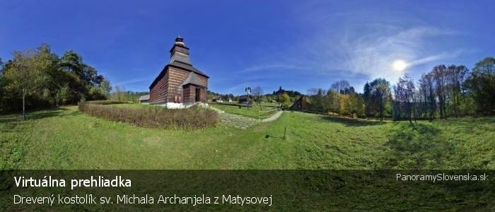 Drevený kostolík sv. Michala Archanjela z Matysovej