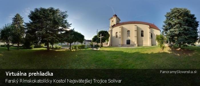Farský Rímskokatolícky Kostol Najsvätejšej Trojice Solivar