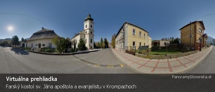 Farský kostol sv. Jána apoštola a evanjelistu v Krompachoch