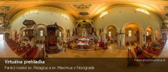 Farský kostol sv. Pelagius a sv. Maximus v Novigrade