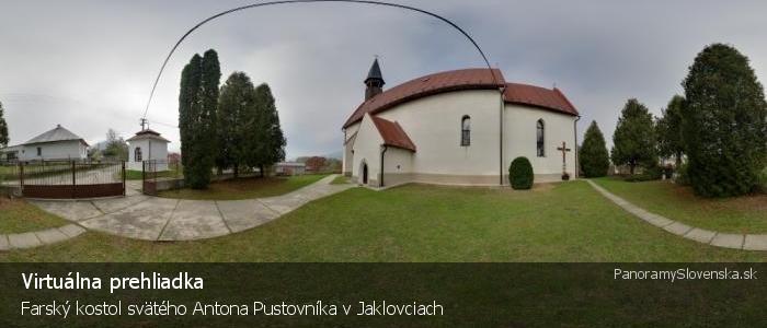 Farský kostol svätého Antona Pustovníka v Jaklovciach