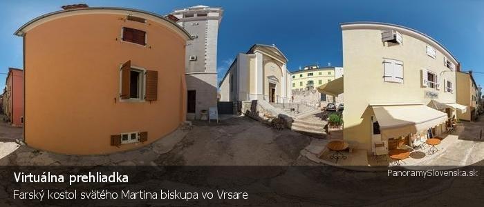 Farský kostol svätého Martina biskupa vo Vrsare