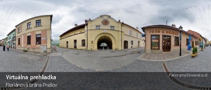 Floriánová brána Prešov