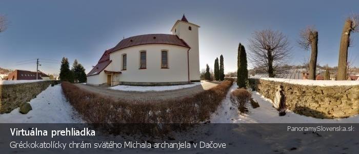 Gréckokatolícky chrám svätého Michala archanjela v Dačove