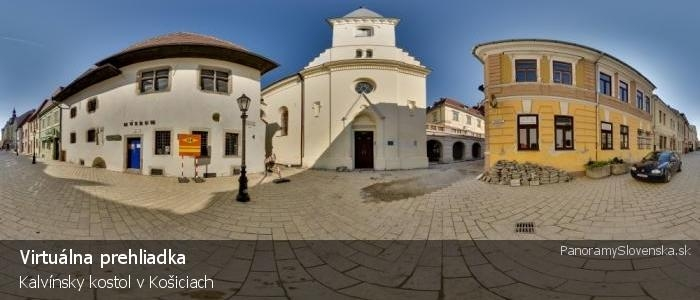 Kalvínsky kostol v Košiciach