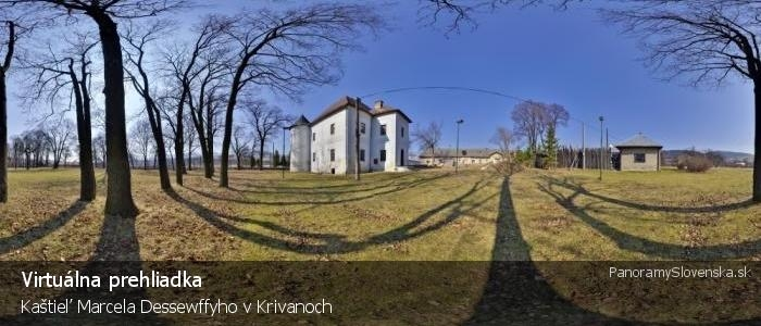 Kaštieľ Marcela Dessewffyho v Krivanoch