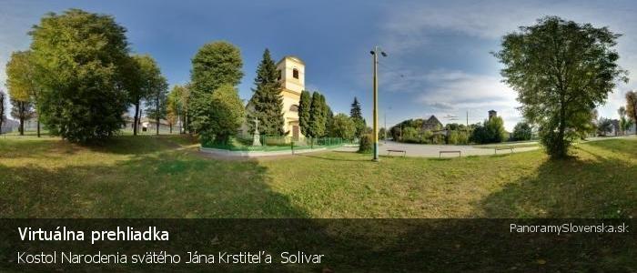 Kostol Narodenia svätého Jána Krstiteľa  Solivar