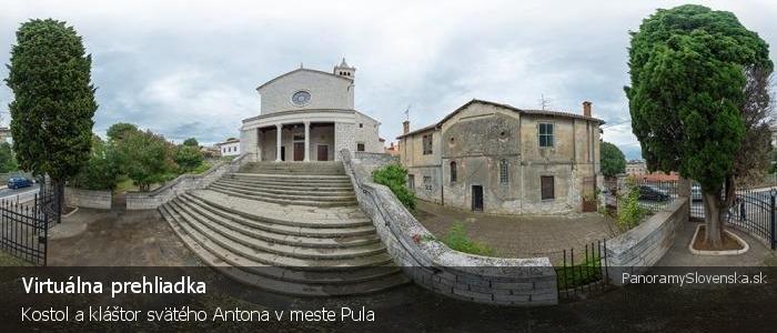 Kostol a kláštor svätého Antona v meste Pula