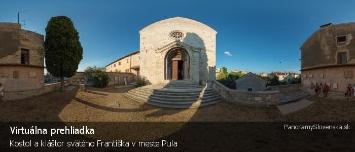 Kostol a kláštor svätého Františka v meste Pula