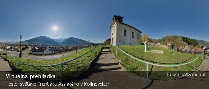 Kostol svätého Františka Assiského v Kolinovciach