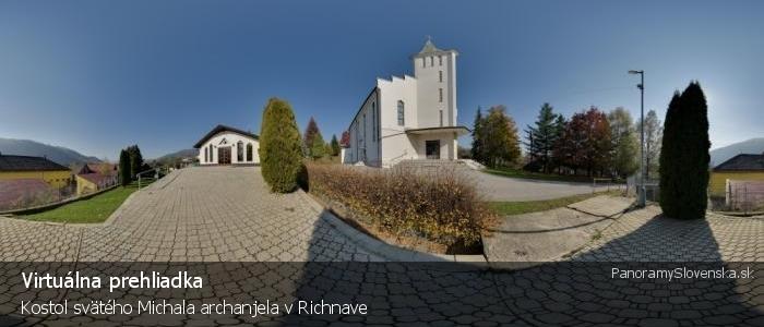 Kostol svätého Michala archanjela v Richnave
