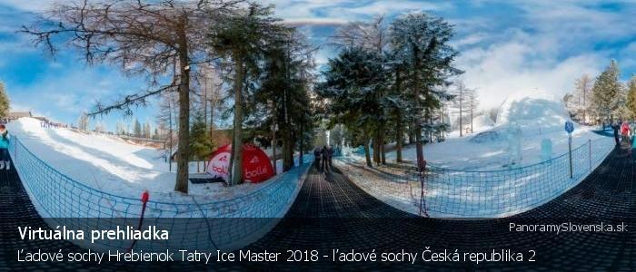 Ľadové sochy Hrebienok Tatry Ice Master 2018 - ľadové sochy Česká republika 2