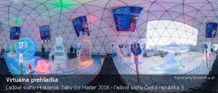 Ľadové sochy Hrebienok Tatry Ice Master 2018 - ľadové sochy Česká republika 3