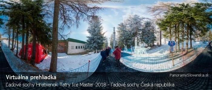 Ľadové sochy Hrebienok Tatry Ice Master 2018 - ľadové sochy Česká republika