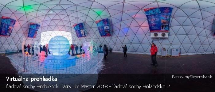 Ľadové sochy Hrebienok Tatry Ice Master 2018 - ľadové sochy Holandsko 2