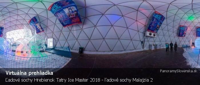 Ľadové sochy Hrebienok Tatry Ice Master 2018 - ľadové sochy Malajzia 2