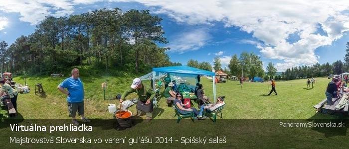 Majstrovstvá Slovenska vo varení guľášu 2014 - Spišský salaš