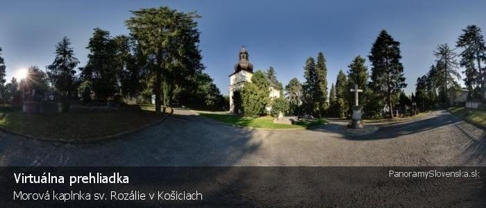 Morová kaplnka sv. Rozálie v Košiciach