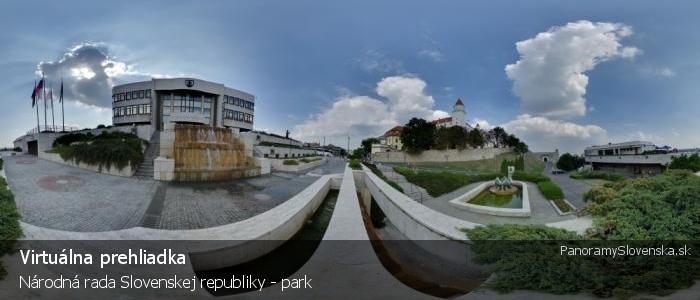 Národná rada Slovenskej republiky - park