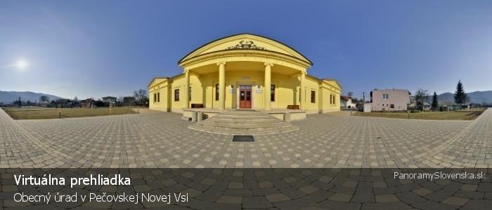 Obecný úrad v Pečovskej Novej Vsi
