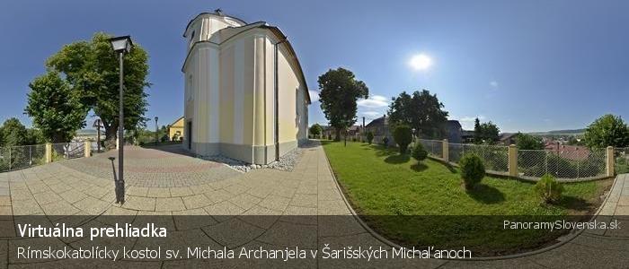 Rímskokatolícky kostol sv. Michala Archanjela v Šarišských Michaľanoch