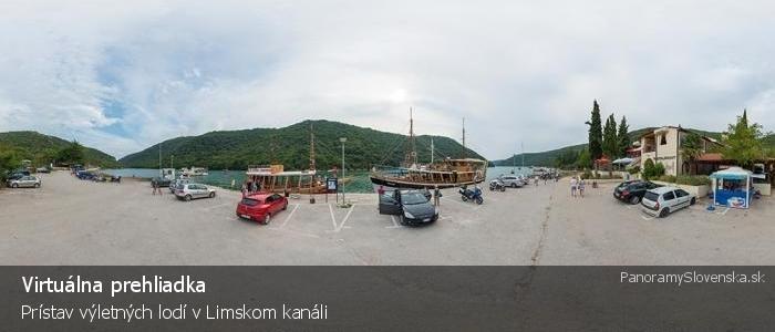 Prístav výletných lodí v Limskom kanáli