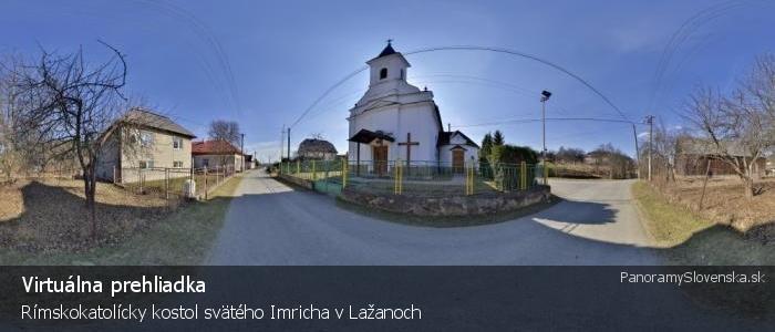 Rímskokatolícky kostol svätého Imricha v Lažanoch
