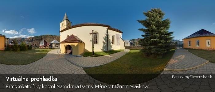 Rímskokatolícky kostol Narodenia Panny Márie v Nižnom Slavkove