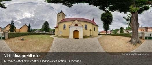 Rímskokatolícky kostol Obetovania Pána Dubovica