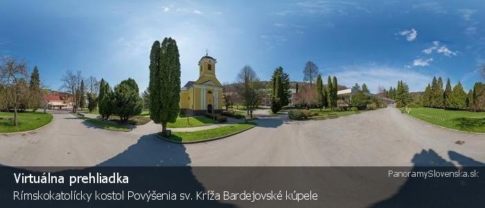 Rímskokatolícky kostol Povýšenia sv. Kríža Bardejovské kúpele