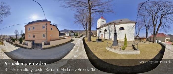 Rímskokatolícky kostol Svätého Martina v Brezovičke