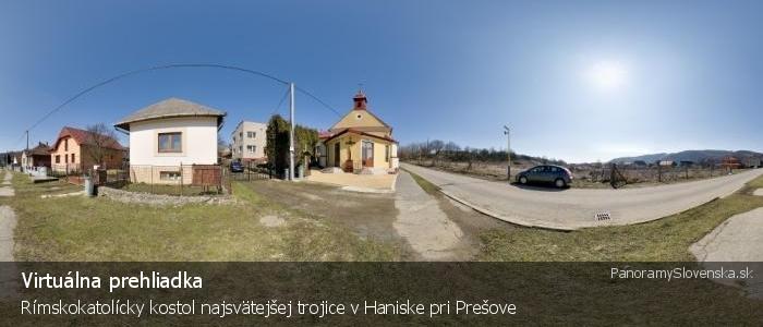 Rímskokatolícky kostol najsvätejšej trojice v Haniske pri Prešove
