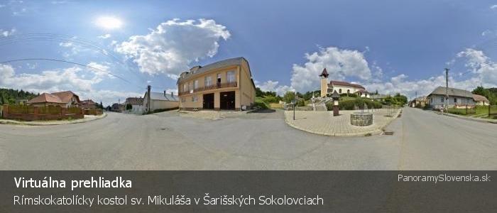 Rímskokatolícky kostol sv. Mikuláša v Šarišských Sokolovciach