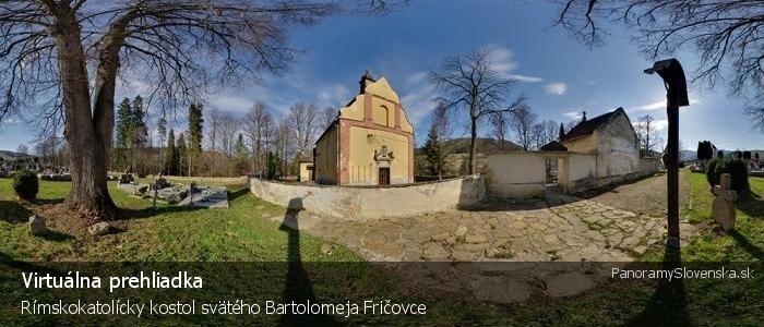 Rímskokatolícky kostol svätého Bartolomeja Fričovce