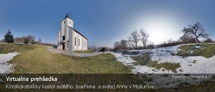 Rímskokatolícky kostol svätého Joachima  a svätej Anny v Mošurove