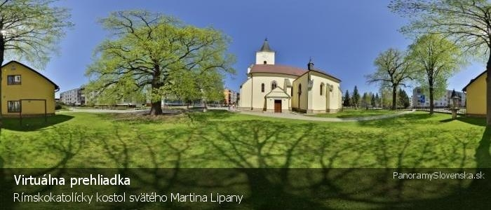 Rímskokatolícky kostol svätého Martina Lipany