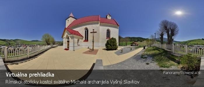 Rímskokatolícky kostol svätého Michala archanjela Vyšný Slavkov
