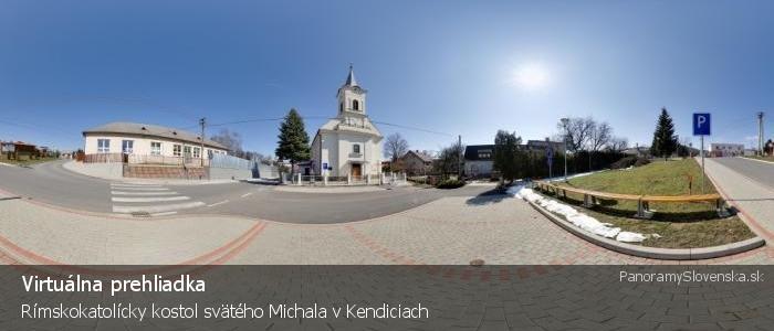 Rímskokatolícky kostol svätého Michala v Kendiciach