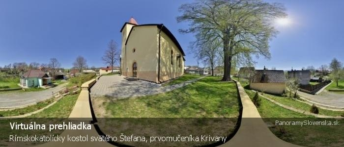Rímskokatolícky kostol svätého Štefana, prvomučeníka Krivany
