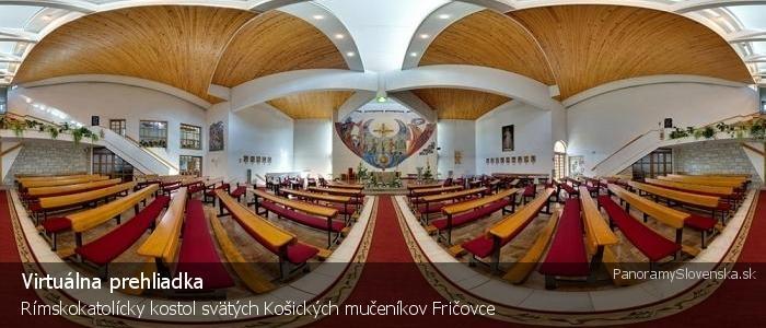 Rímskokatolícky kostol svätých Košických mučeníkov Fričovce