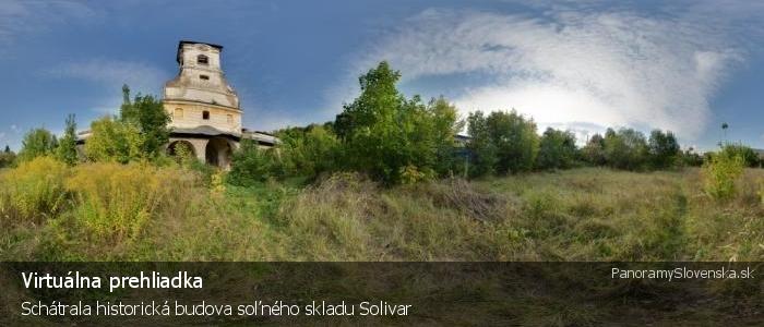 Schátrala historická budova soľného skladu Solivar