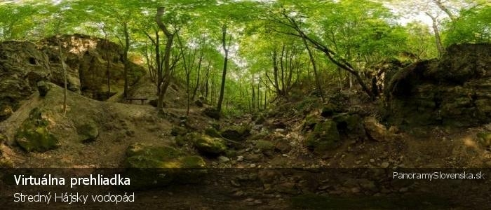 Stredný Hájsky vodopád