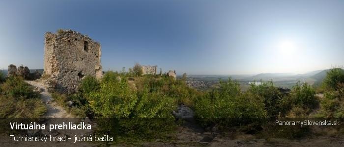 Turnianský hrad - južná bašta