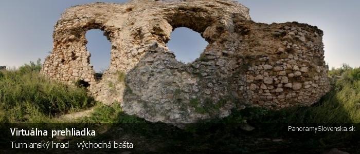 Turnianský hrad - východná bašta
