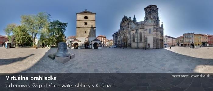 Urbanova veža pri Dóme svätej Alžbety v Košiciach