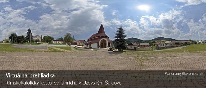 Rímskokatolícky kostol sv. Imricha v Uzovským Šalgove