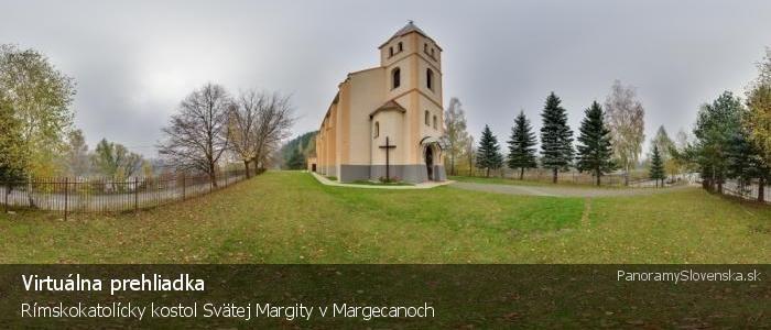 Rímskokatolícky kostol Svätej Margity v Margecanoch